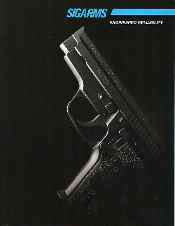 1995 Sigarms Catalog