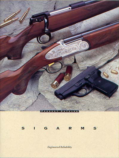 1997 Sigarms Catalog