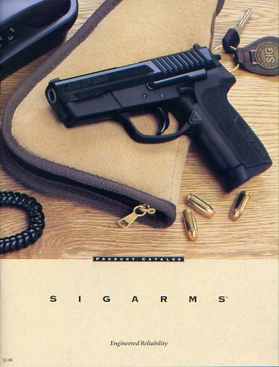 1998 Sigarms Catalog