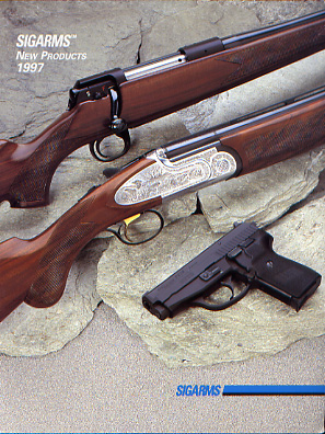1997 Sigarms New Product Catalog