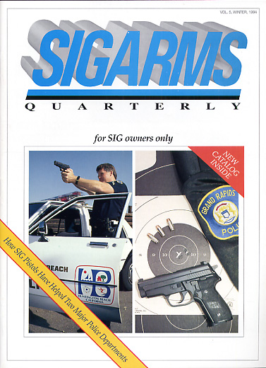 1994 Sigarms Quarterly Magazine-Winter