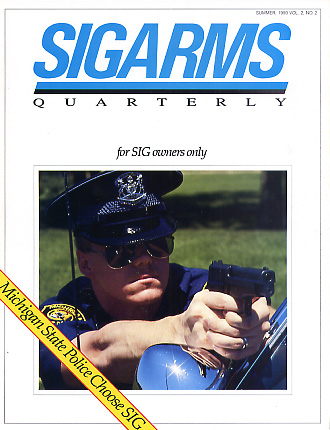 1990 Sigarms Quarterly Magazine-Summer