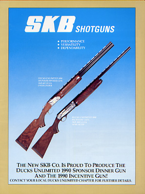 1991 SKB Shotguns Catalog