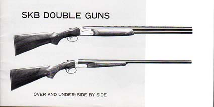 SKB Double Guns Manual