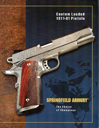 2001 Custom Loaded 1911-A1 Catalog