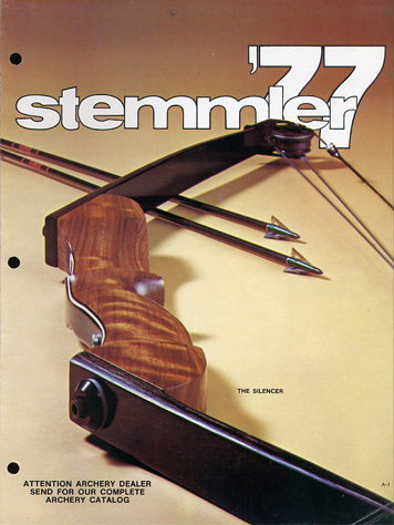 1977 Stemmler Compound Bow Catalog