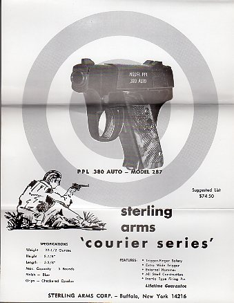 1972 Sterling Arms Corp. Product Sheets
