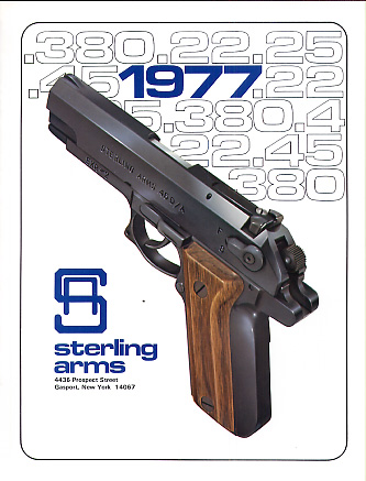 1977 Sterling Arms Corp. Catalog