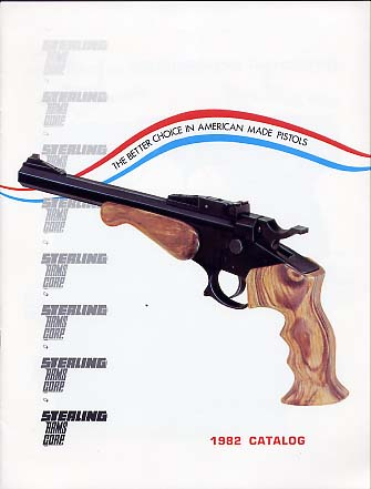 1982 Sterling Arms Corp. Catalog
