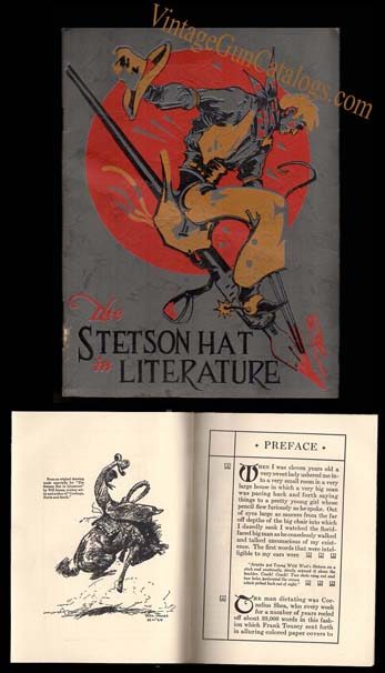 "Book ""The Stetson Hat In American Literature"" Will James"