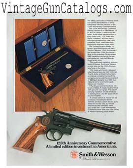 1977 S&W 125th Anniversary Model 25 Broadsheet