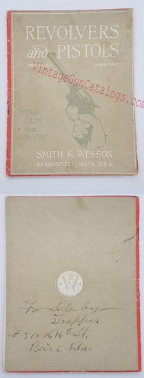 1919 Smith & Wesson Catalog