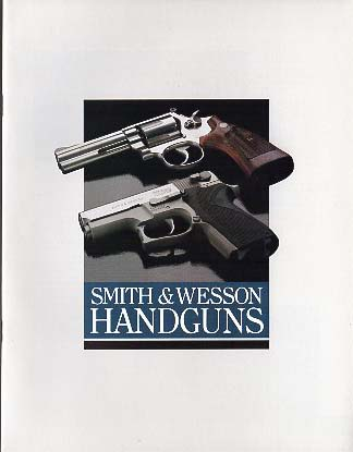 1989 Smith & Wesson Catalog