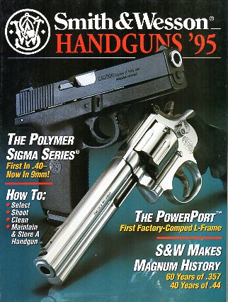 1995 Smith & Wesson Handguns'95