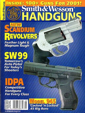 2001 Smith & Wesson Handguns 2001