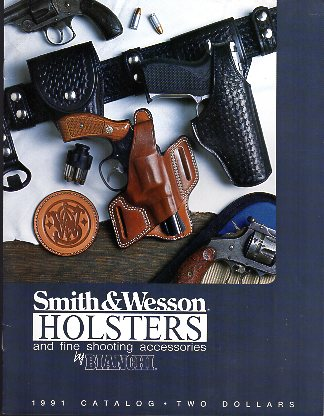 "1991 Bianchi ""S&W"" Holster Catalog"