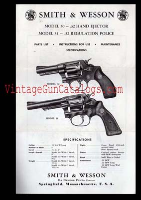 Smith & Wesson Model 30 / Model 31 Instructions