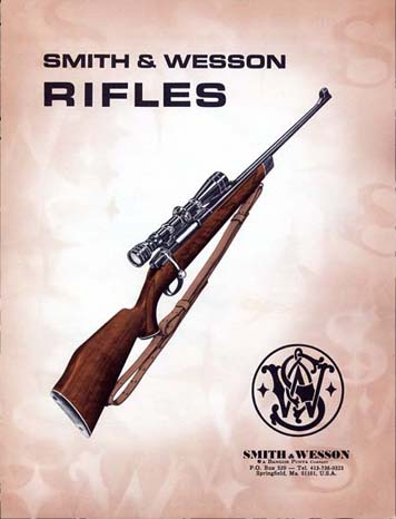 1970 Smith & Wesson Sporting Rifles Catalog