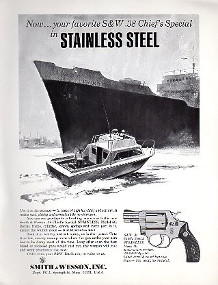 1960's .38 Chief's Special Stainless Broadsheet