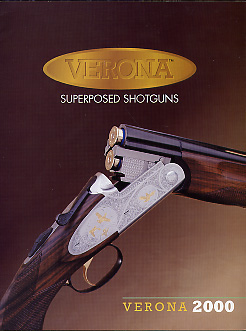 2000 Verona Shotguns Catalog