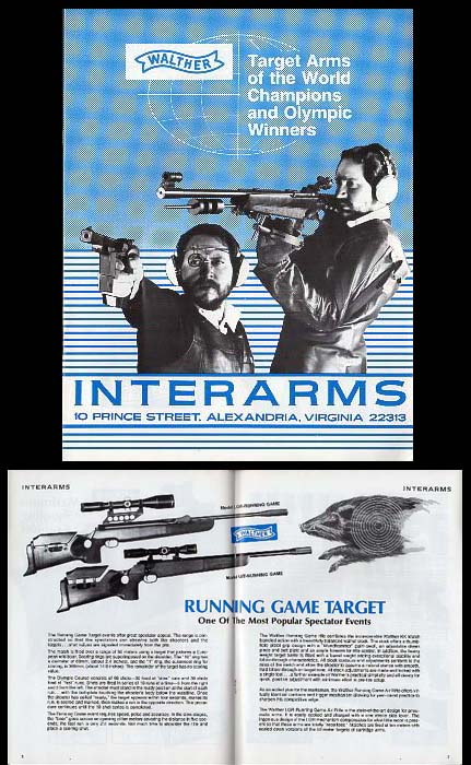 1984 Walther/Interarms Catalog