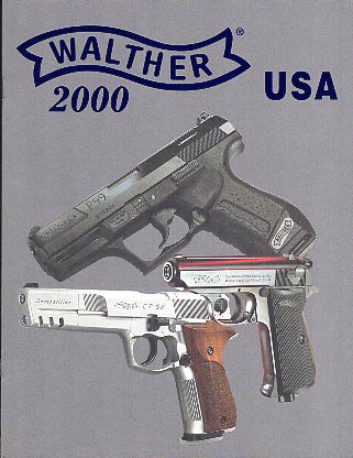 2000 Walther Catalog