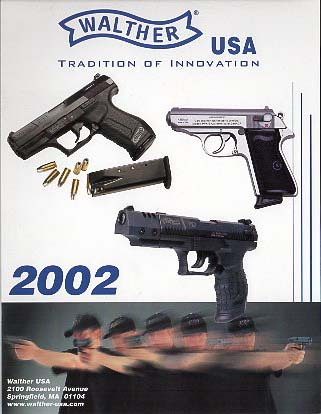2002 Walther Catalog