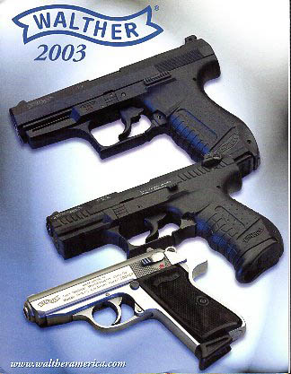 2003 Walther Catalog
