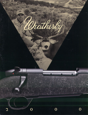 2000 Weatherby Catalog