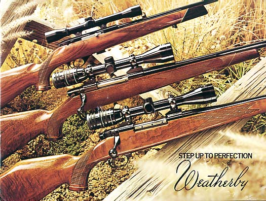 1977 Weatherby Catalog w/prices