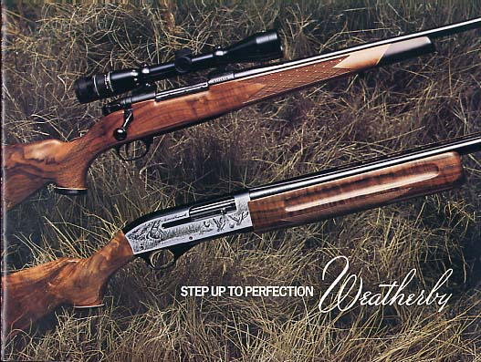 1978 Weatherby Catalog w/prices
