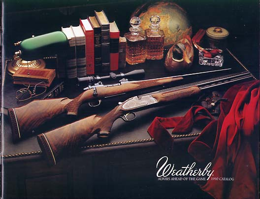 1990 Weatherby Catalog