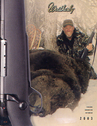2003 Weatherby Catalog