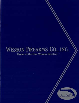 1992 Wesson Firearms Co. Catalog