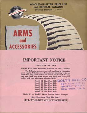 Winchester, Vintage Gun Catalogs
