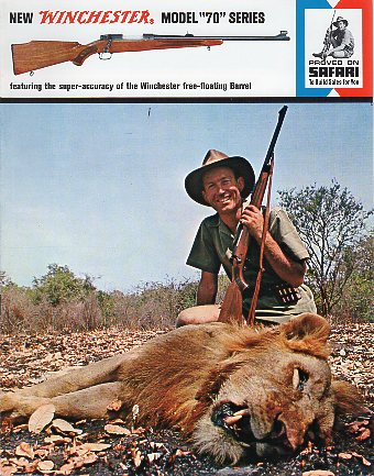 1964 Winchester Model 70 Series Catalog