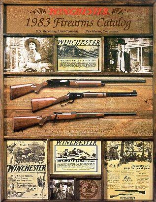 1996 WINCHESTER RIFLES /& SHOTGUNS CATALOG