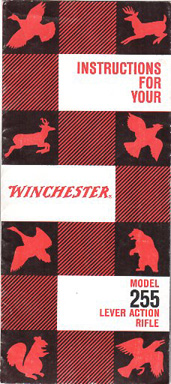 1961 Winchester Mod.255 Manual
