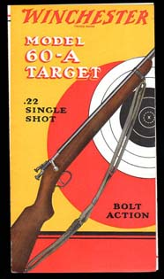1932 Winchester Mdl.60A Target Rifle Brochure
