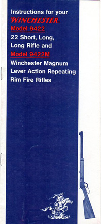 1970's Winchester Model 9422 Manual
