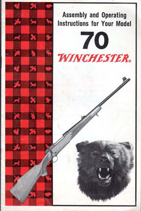 1970's Winchester Model 70 Instructions