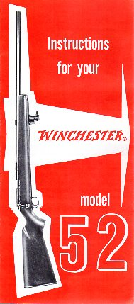 Winchester Model 52D Instructions