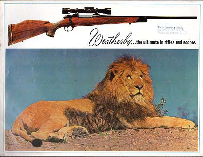 1966 Weatherby Catalog
