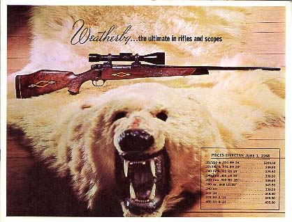 1968 Weatherby Catalog