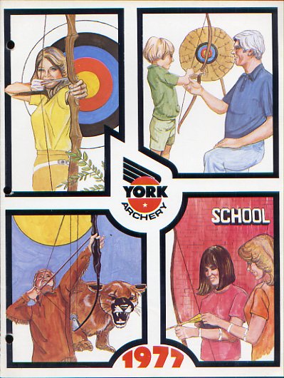 1977 York Archery Catalog