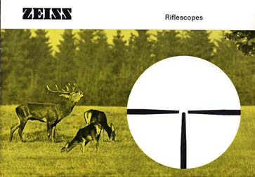 1970 Zeiss Riflescopes Catalog